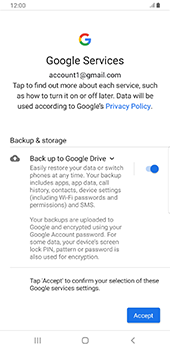 Samsung Galaxy S9 Plus - Android Pie - E-mail - 032a. Email wizard - Gmail - Step 11