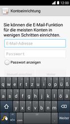 Huawei Ascend Y530 - E-Mail - Konto einrichten - Schritt 5