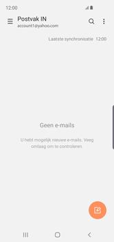 Samsung Galaxy S10e - E-mail - e-mail instellen (yahoo) - Stap 10