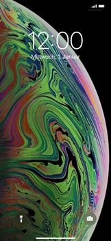 Apple iPhone XS Max - iOS 14 - Gerät - Einen Soft-Reset durchführen - Schritt 4