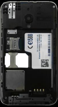 Alcatel OT-4009D Pixi 3 (3.5) - SIM-Karte - Einlegen - Schritt 7