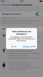 Apple iPhone 6s - Internet et connexion - Utiliser le mode modem par USB - Étape 7