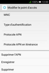 Alcatel Pixi 3 (3.5) - Internet et roaming de données - Configuration manuelle - Étape 18