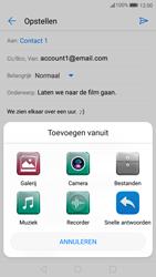 Huawei P10 - E-mail - e-mail versturen - Stap 10