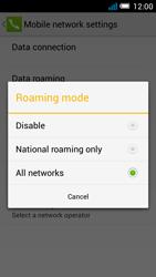 Alcatel Pop C7 - Internet and data roaming - Disabling data roaming - Step 7