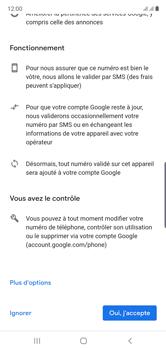 Samsung Galaxy Note 10 - Applications - Créer un compte - Étape 14