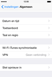 Apple iPhone 4S (iOS 8) - toestel resetten - fabrieksinstellingen terugzetten - stap 4