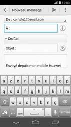 Huawei Ascend P7 - E-mail - envoyer un e-mail - Étape 4