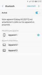 Samsung Galaxy A3 (2017) - Bluetooth - connexion Bluetooth - Étape 11