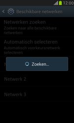 Samsung I8190 Galaxy S III Mini - Netwerk - Handmatig een netwerk selecteren - Stap 8