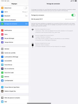 Apple iPad Pro 12.9 (2nd gen) - iPadOS 13 - WiFi - Comment activer un point d'accès WiFi - Étape 8