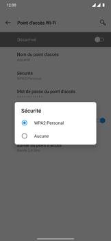OnePlus 7T Pro - Internet et connexion - Partager votre connexion en Wi-Fi - Étape 10