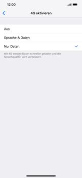 Apple iPhone XR - Netzwerk - Netzwerkeinstellungen ändern - Schritt 6