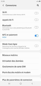 Samsung Galaxy J4 Plus - Wifi - configuration manuelle - Étape 4