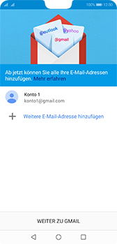 Huawei P20 - Android Pie - E-Mail - 032a. Email wizard - Gmail - Schritt 12