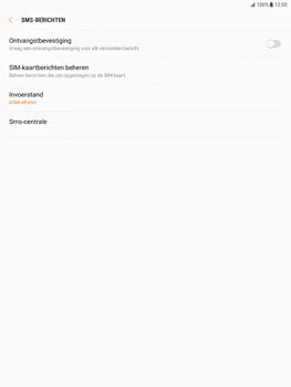Samsung Galaxy Tab S2 9.7 - Android Nougat - SMS - Handmatig instellen - Stap 10
