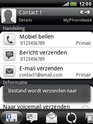 HTC A3333 Wildfire - contacten, foto