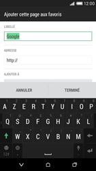 HTC Desire 816 - Internet et connexion - Naviguer sur internet - Étape 10