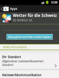Samsung Galaxy Y - Apps - Installieren von Apps - Schritt 15