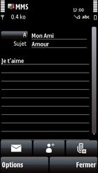 Nokia 5800 Xpress Music - MMS - envoi d'images - Étape 11