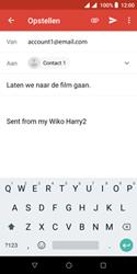 Wiko Harry 2 - E-mail - e-mail versturen - Stap 7