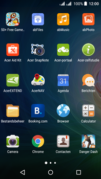 Acer Liquid Z630 - Internet - hoe te internetten - Stap 2