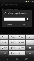 Sony C6603 Xperia Z - Messagerie vocale - configuration manuelle - Étape 9
