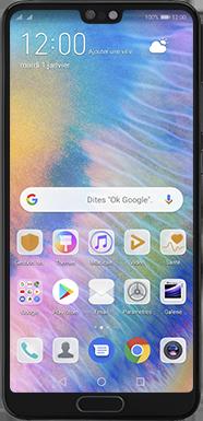 Huawei P20 - Android Pie - Téléphone mobile - Comment effectuer une réinitialisation logicielle - Étape 2
