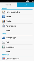 Huawei Ascend G6 - Voicemail - Manual configuration - Step 4