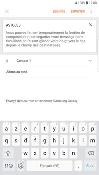 Samsung Galaxy S6 Edge+ - Android Nougat - E-mail - envoyer un e-mail - Étape 9
