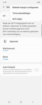 Samsung Galaxy Z Flip Single-SIM + eSIM (SM-F700F) - WiFi - Mobiele hotspot instellen - Stap 8
