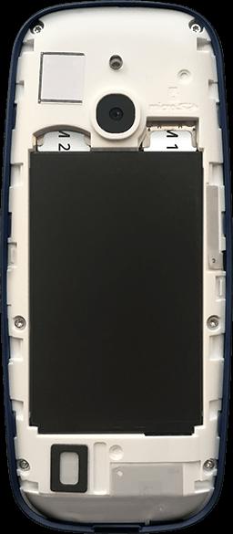 Nokia 3310 - Premiers pas - Insérer la carte SIM - Étape 7