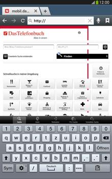 Samsung Galaxy Tab 3 8-0 LTE - Internet und Datenroaming - Verwenden des Internets - Schritt 13