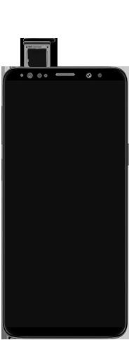 Samsung Galaxy S9 Android Pie - Toestel - simkaart plaatsen - Stap 6