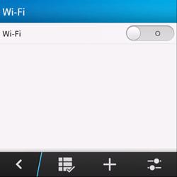 BlackBerry Q10 - WiFi - Configurazione WiFi - Fase 6