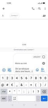 Oppo Reno 4 Pro - Contact, Appels, SMS/MMS - Envoyer un MMS - Étape 15