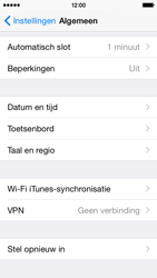 Apple iPhone 5s iOS 8 - Resetten - Fabrieksinstellingen terugzetten - Stap 4