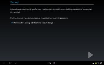 Sony Xperia Tablet Z LTE - Applicazioni - Configurazione del negozio applicazioni - Fase 24