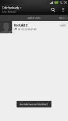 HTC One Mini - Anrufe - Anrufe blockieren - Schritt 7