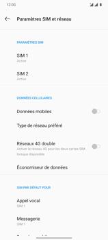 OnePlus 7T - Internet et connexion - Désactiver la connexion Internet - Étape 7
