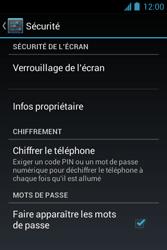 Bouygues Telecom Bs 351 - Sécuriser votre mobile - Activer le code de verrouillage - Étape 5