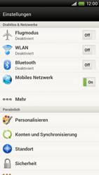 HTC One X - Ausland - Im Ausland surfen – Datenroaming - 6 / 10