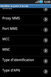 Samsung S5830 Galaxy Ace - MMS - configuration manuelle - Étape 11