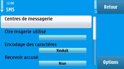 Nokia N97 - SMS - configuration manuelle - Étape 6
