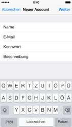 Apple iPhone 5s - E-Mail - Manuelle Konfiguration - Schritt 9