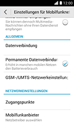 Huawei Ascend Y330 - MMS - Manuelle Konfiguration - 5 / 17