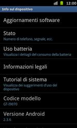 Samsung Galaxy S Advance - Software - Installazione degli aggiornamenti software - Fase 6