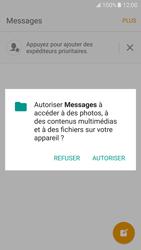 Samsung Galaxy S7 - Contact, Appels, SMS/MMS - Envoyer un SMS - Étape 5
