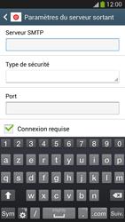 Samsung Galaxy S 4 Active - E-mail - configuration manuelle - Étape 13