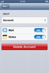 Apple iPhone 4 S - E-mail - Manual configuration - Step 15